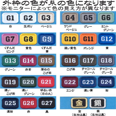 39ワッペン(390円のかんたんセミオーダー)