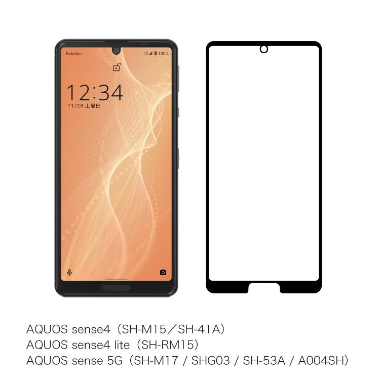 AQUOS sense4 / sense4 lite / sense5G ソフトフィルム