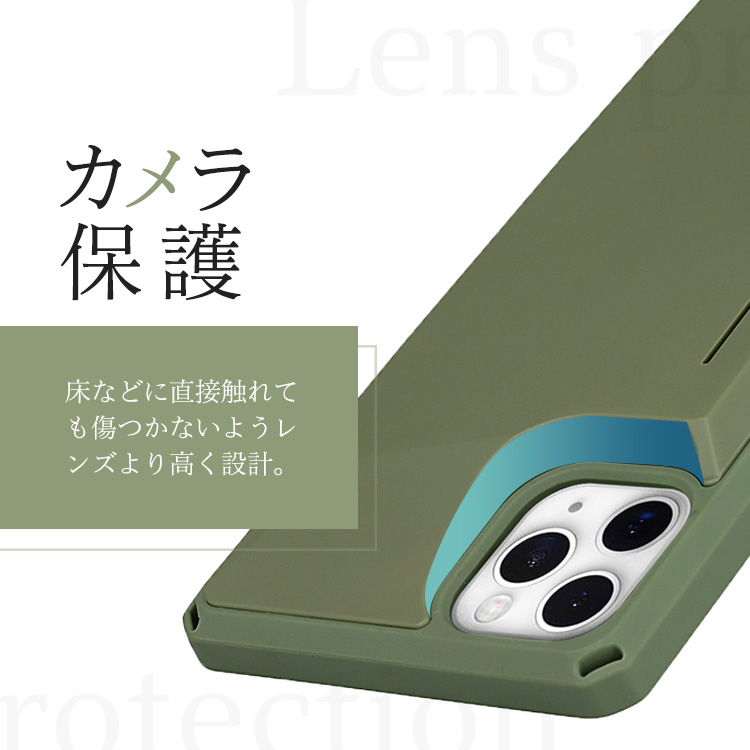 iPhone 12 12 Pro 背面カード入れケース