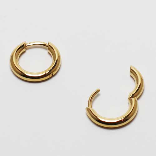 TOMWOOD/Classic Hoops Small  Gold