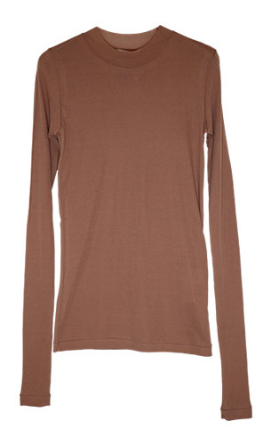 AURALEE/HIGH GAUGE SHEER RIB L/S TEE