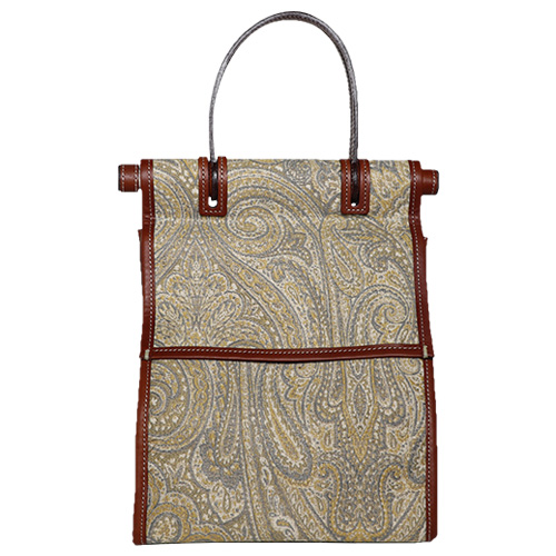 A VACATION/LUNCH PAISLEY YELLOW