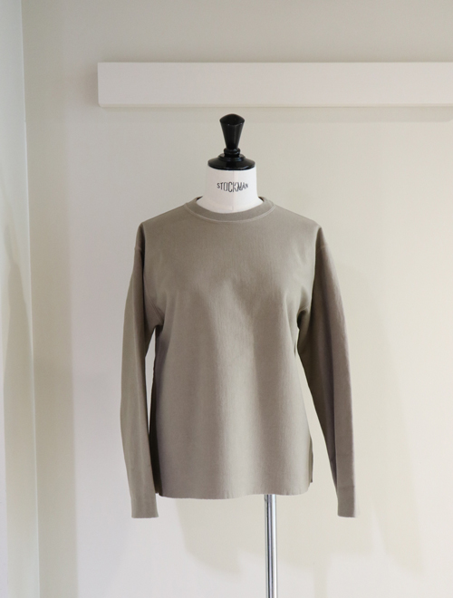 AURALEE/SUPER MILLED SWEAT CUT-OFF P/O