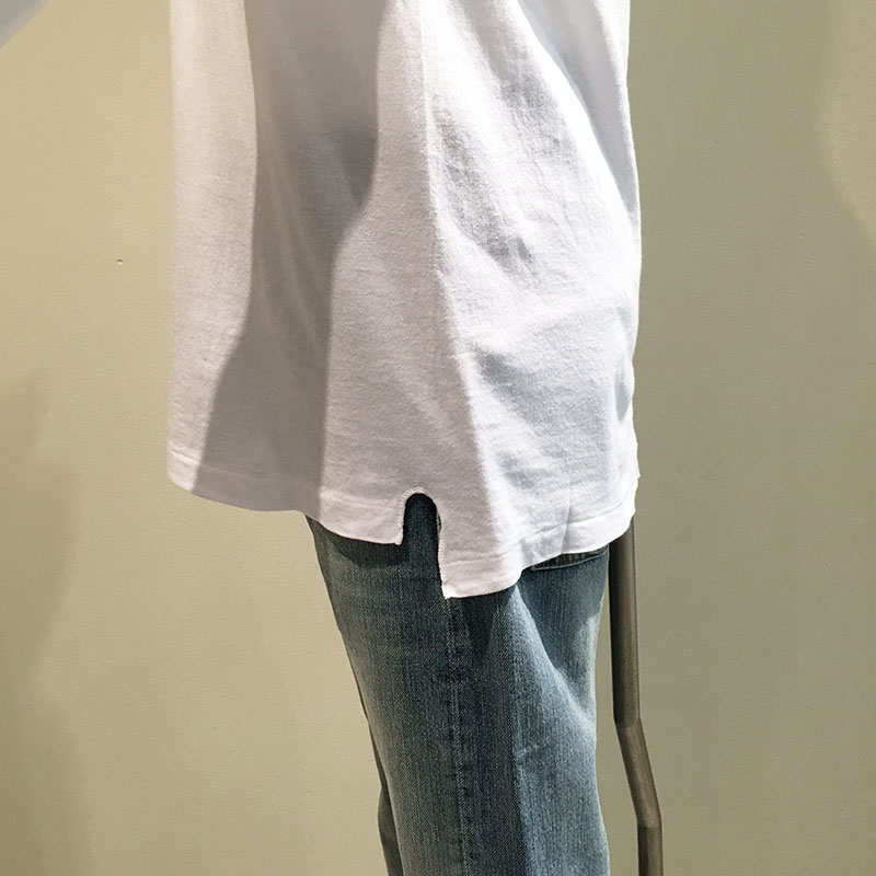 AURALEE/seamless crew neck tee