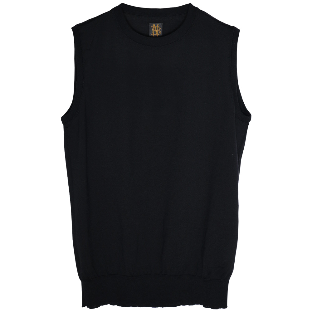 BATONER/4SEASONS WOOL SLEEVELESS