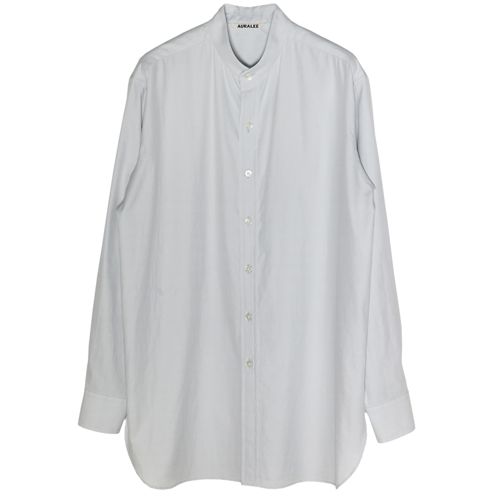 AURALEE/WASHED FINX TWILL SHIRTS