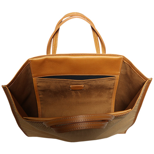 A VACATION/FAN TOTE BAG CORDUROY