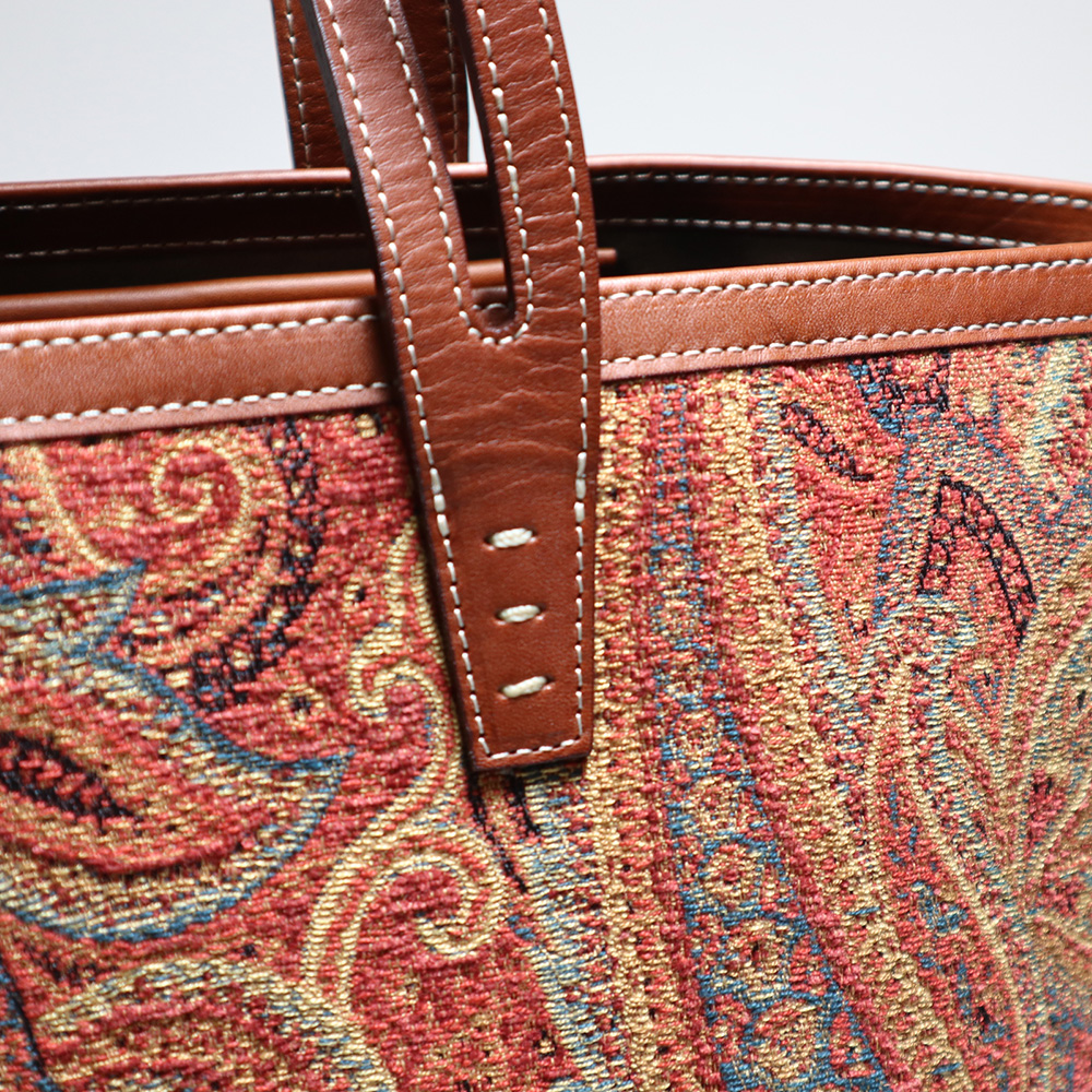 A VACATION/BUNBUN PAISLEY ORANGE
