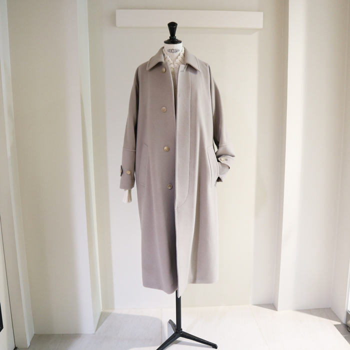 AURALEE/CASHMERE WOOL MOSSER BIG COAT