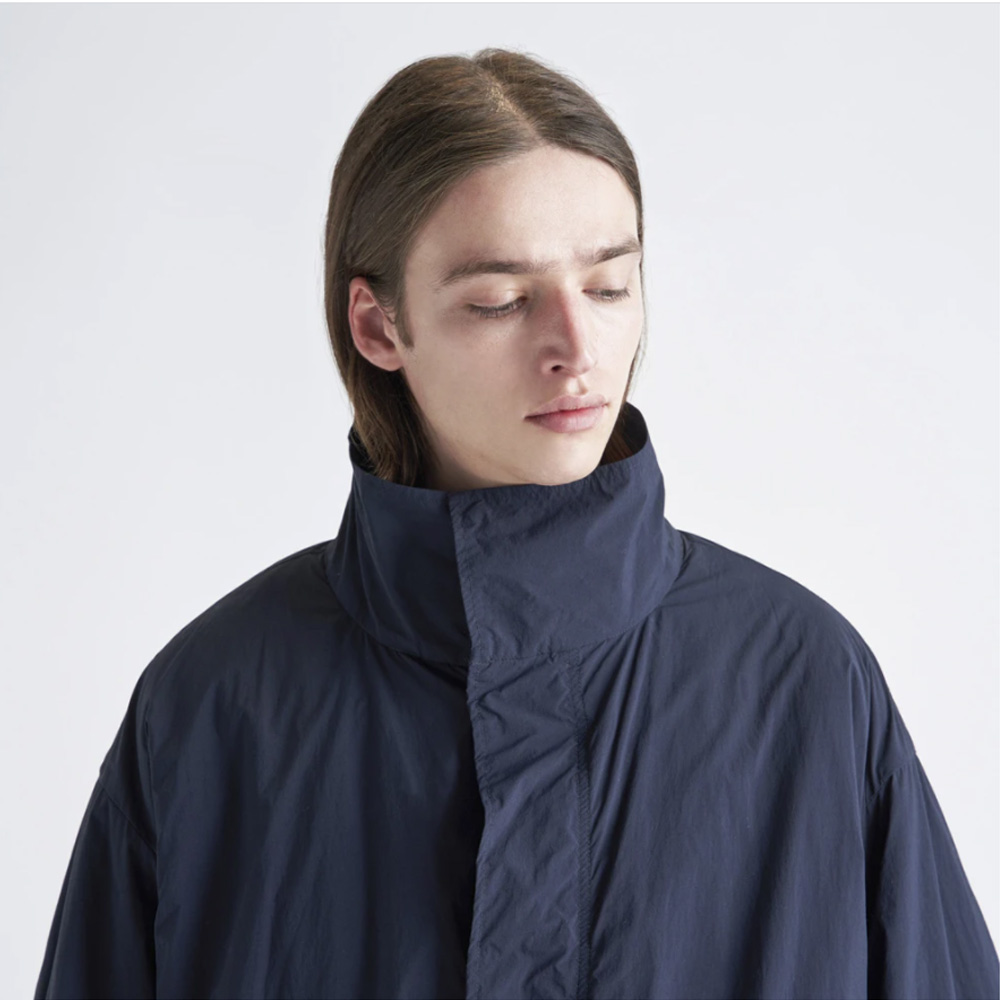 ATON/VENTILE NYLON SHORT MODS COAT
