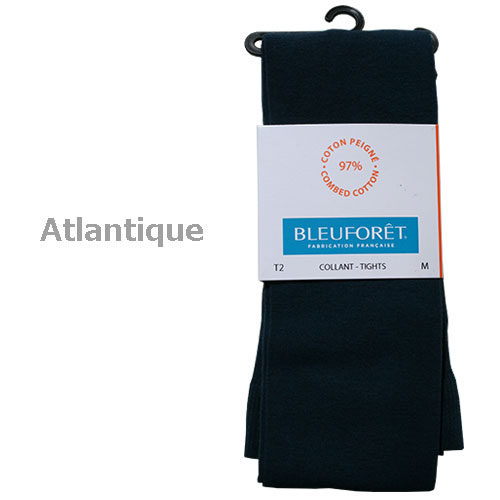 BLEU FORET/cotton tights 3000