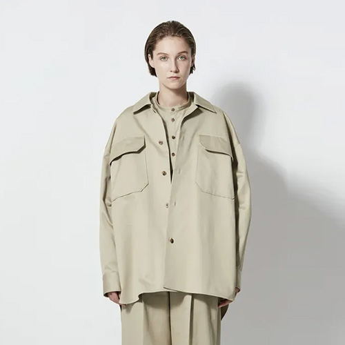 ATON/WEST POINT OVERSIZED SHIRT