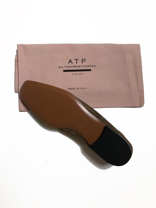 ATP atelier/Andrano Suede flat shose