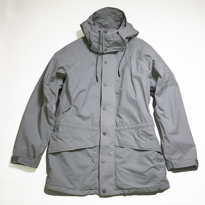 ATON/VENTYLE NYLON MOUNTAIN PARKA