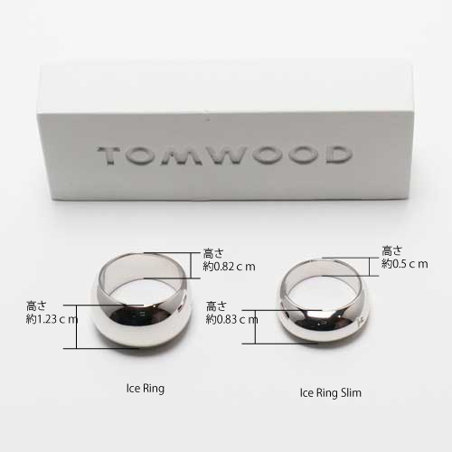 TOM WOOD/Ice ring slim