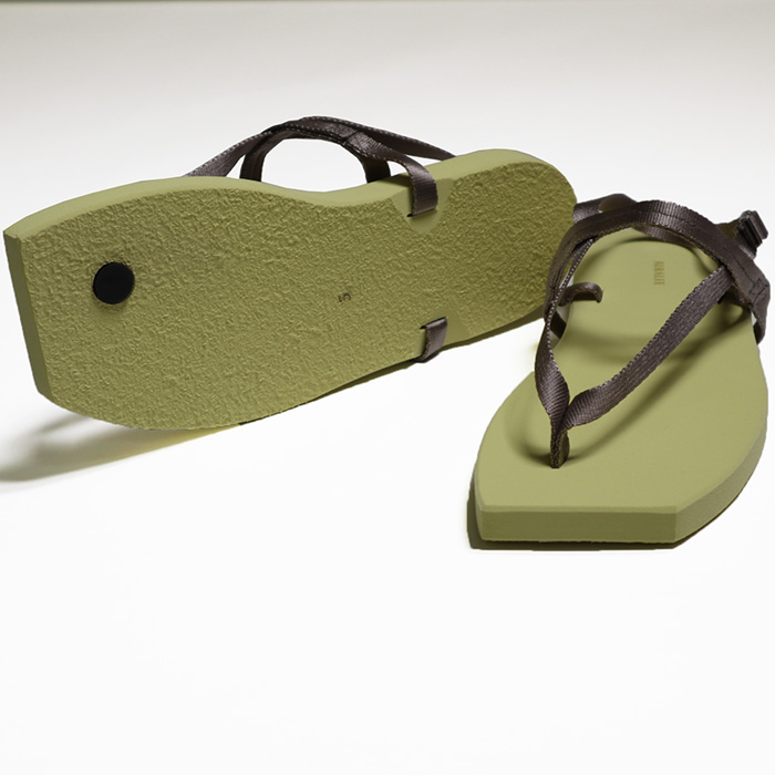 AURALEE/BELTED BEACH SANDALS MADE BY FOOT THE COACHER