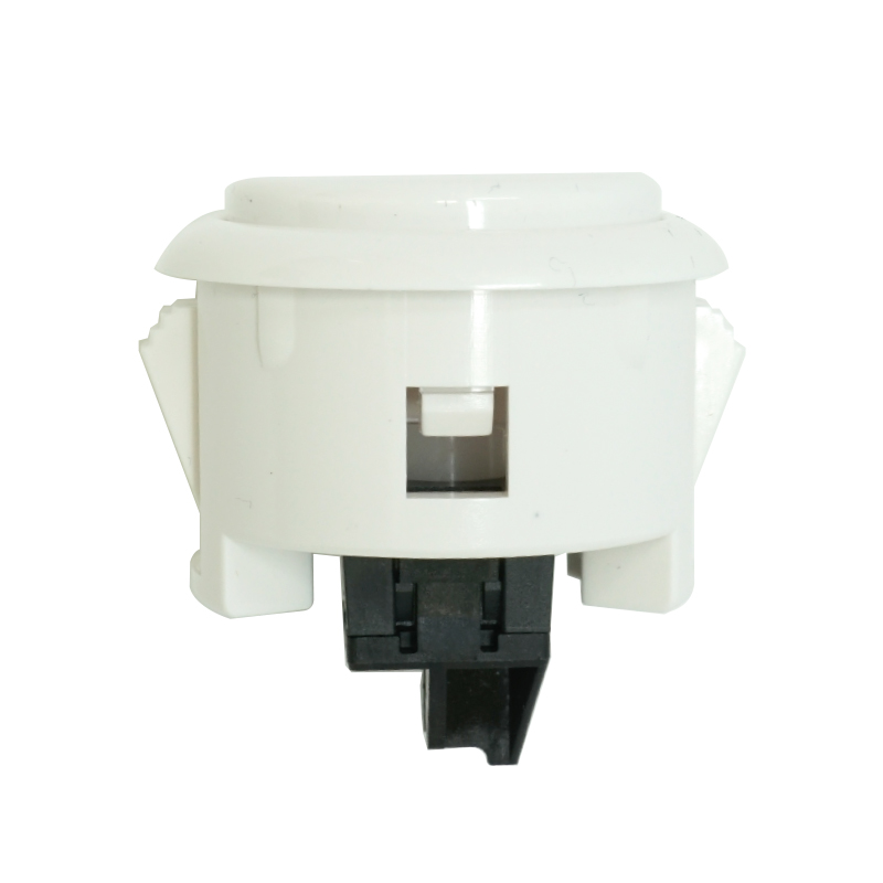 【A-OBSF-30-W】30φ押しボタンスイッチ コネクター式 白色