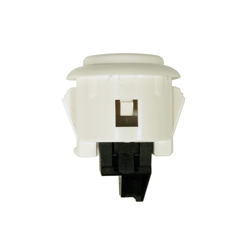【A-OBSF-24-W】24φ押しボタンスイッチ コネクター式 白色
