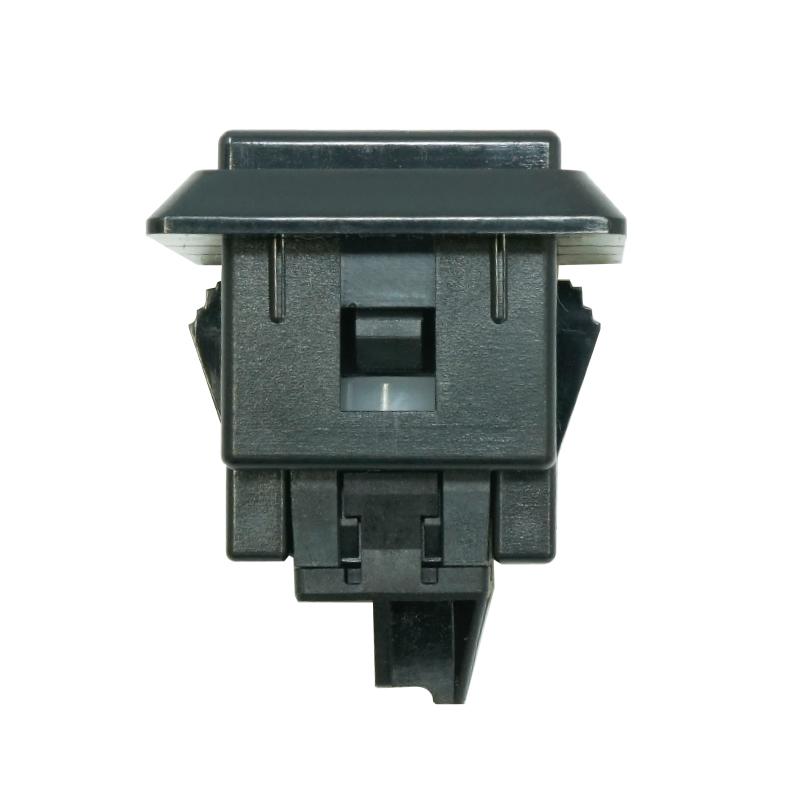 【A-OBSF-24KK-K】24φ正方形押しボタンスイッチ コネクター式 黒色