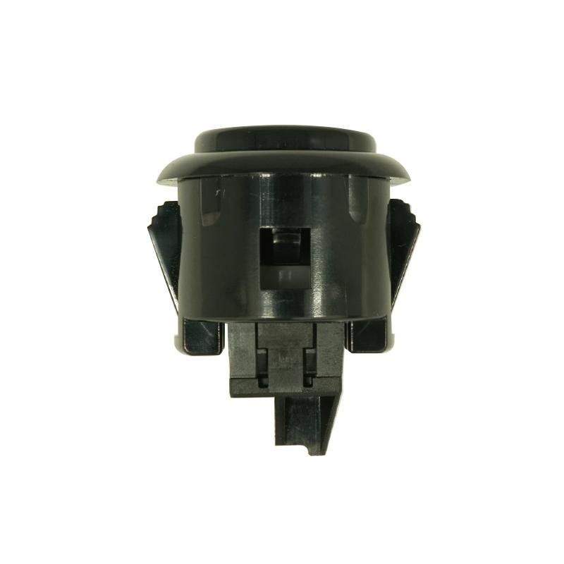 【A-OBSF-24-K】24φ押しボタンスイッチ コネクター式 黒色