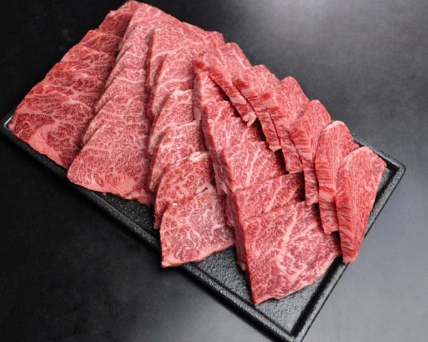 黒毛和牛焼肉赤身 750g【贈答用木箱】
