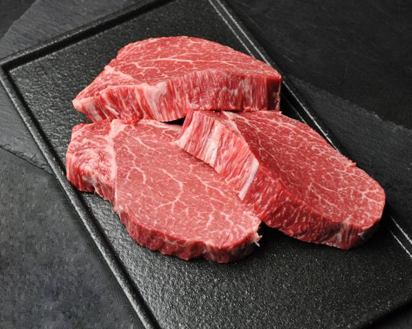 黒毛和牛ステーキヘレ 180g×3枚【贈答用木箱】