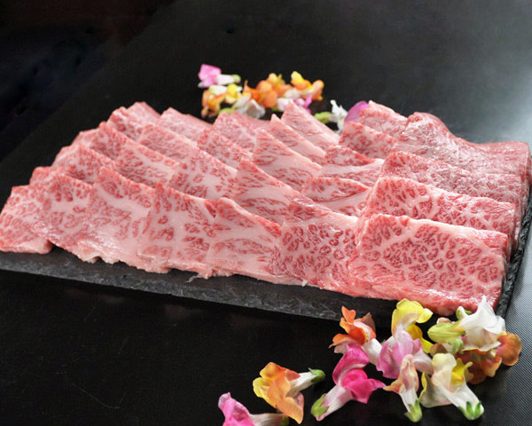 黒毛和牛焼肉霜降り 750g【簡易トレーパック】<RYK075>