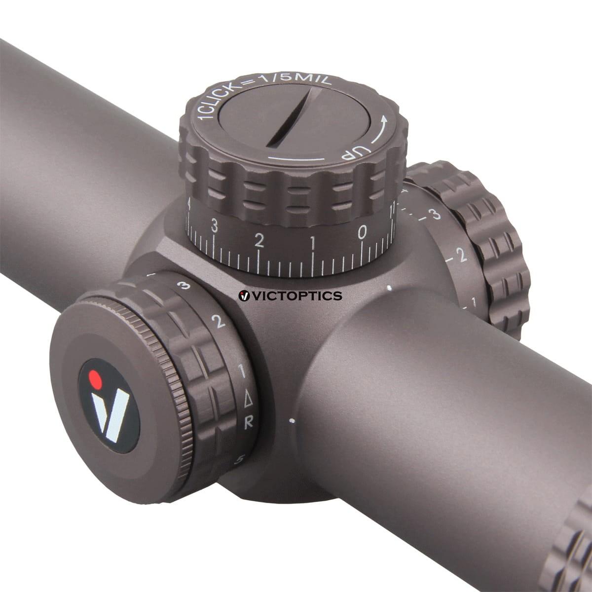Vector Optics OPSL23 S6 1-6x24 ET Burnt Brown