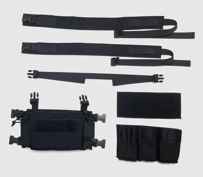Rapidfire VE-55 D3CRMタイプチェストリグ 5.56mm用インサート付