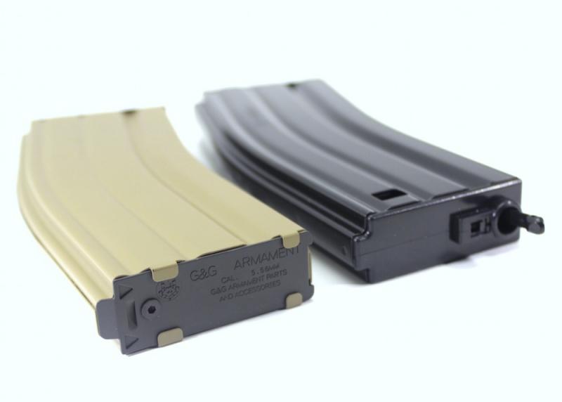 【マガジン】G&G M4用 79連マガジン ブラック・TAN・グレー