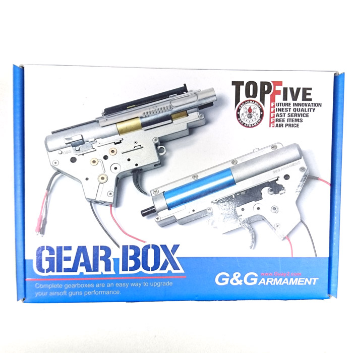 G&G G-16-019 Completed Gearbox VER.2 for CM16 (Rear wire set)