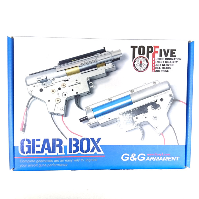 G&G G-16-018 Completed Gearbox VER.2 for CM16 (Front wire set)
