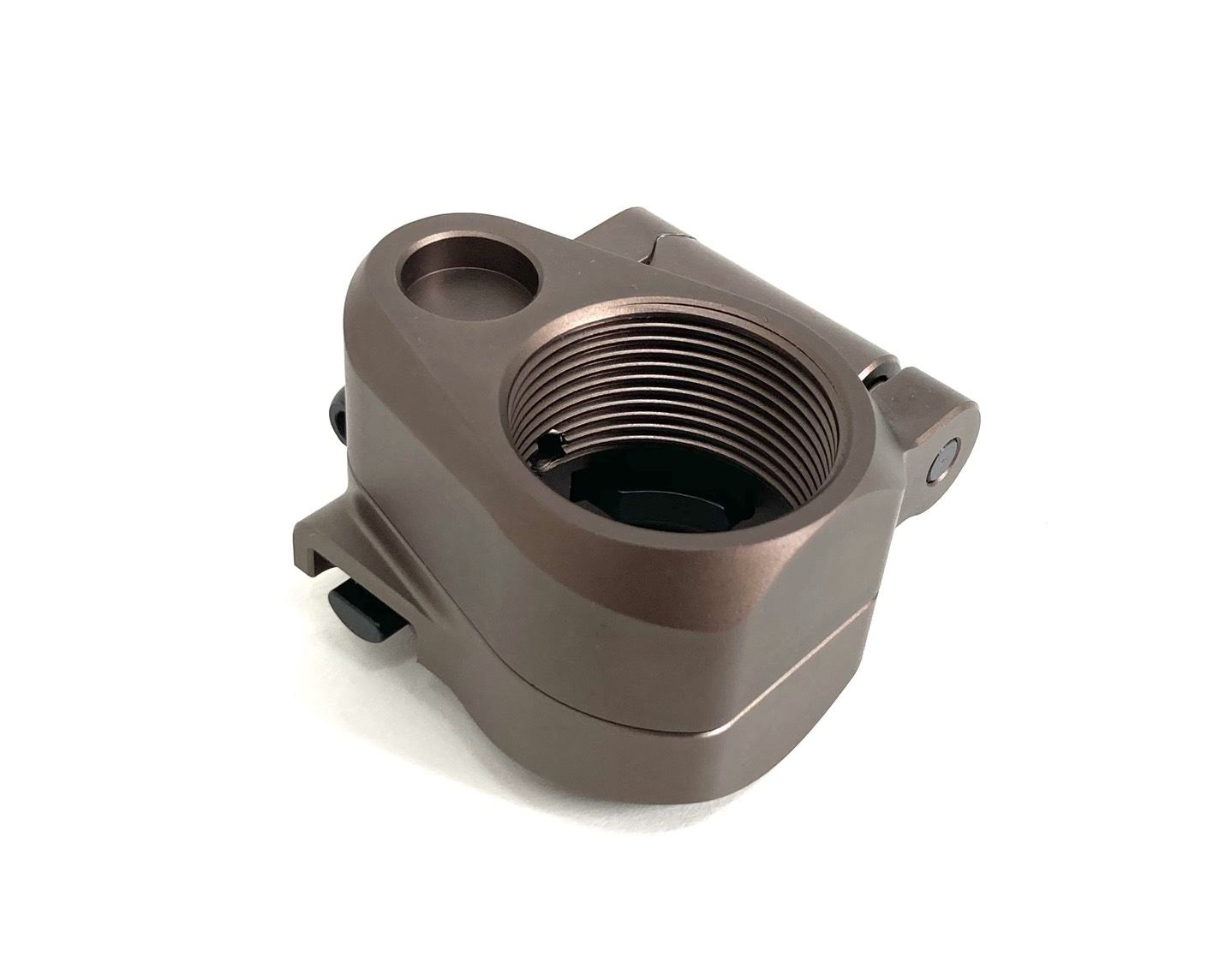 AR Folding Stock Adapter Fit M16/M4 SR25 Series GBB(AEG) For Airsoft DE
