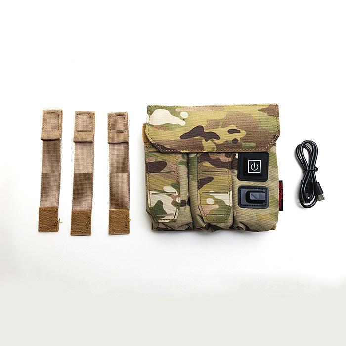 SOETAC Portable heating constant temperature TRIPLE Pistol Case Sleeve MC MCBK