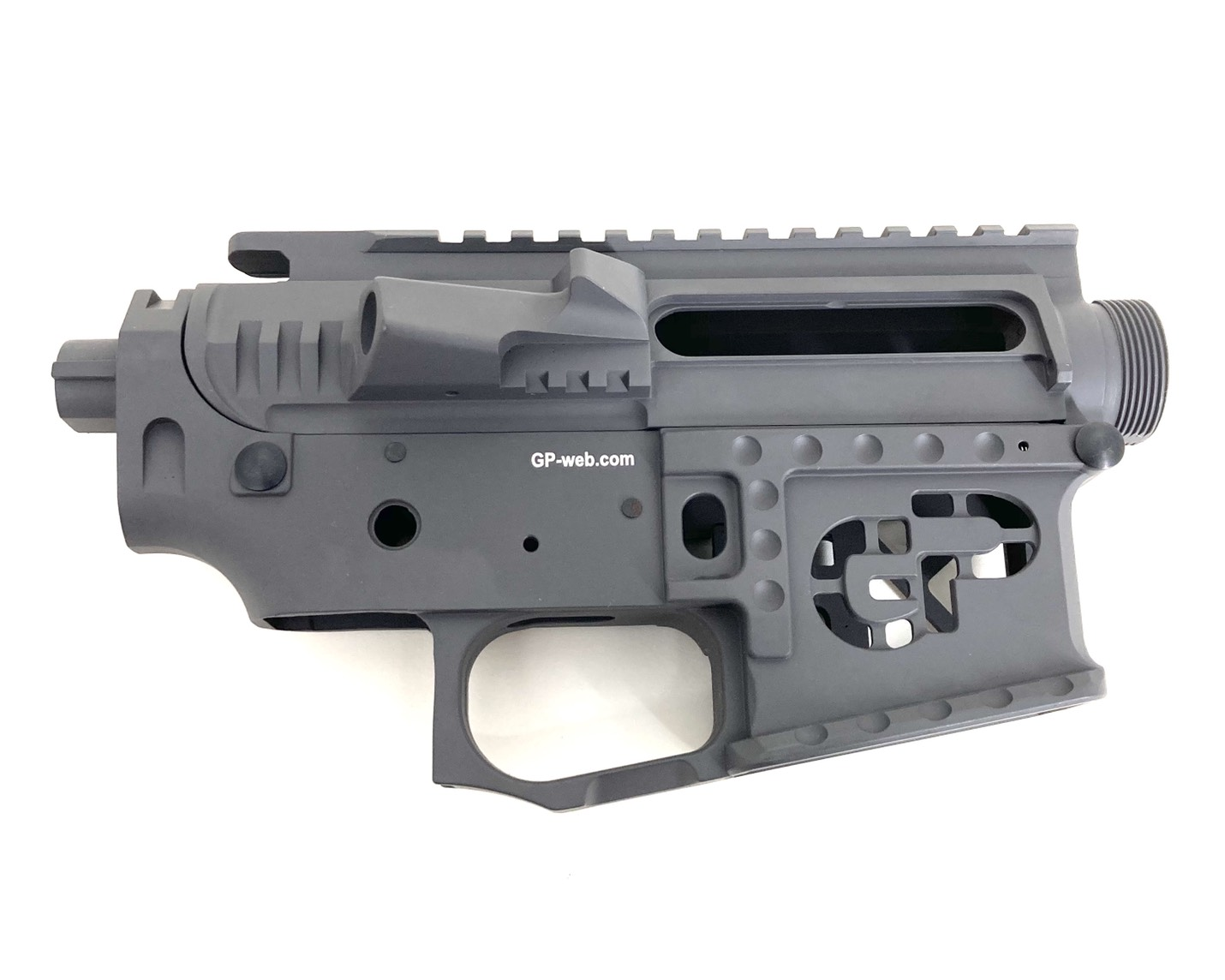 G&P GP-MEB022GY Signature Receiver for Tokyo Marui M4 / M16 & G&P FRS Series - Gray