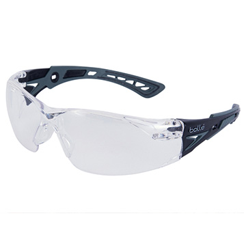 Bolle RUSH PLUS PLATINUM CLEAR LENS/Black x WolfGray