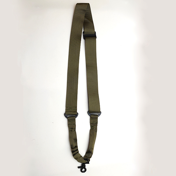 AMOMAX AM-SS010G Singl Point Sling with round hook OD Green