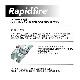 RapidfireVictoptics 1x18専用マウント+ハイキャパ5.1用ハイスピードブリーチ