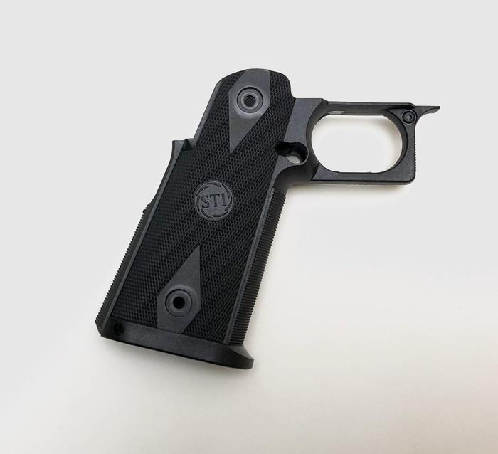 GK Tactical 東京マルイハイキャパシリーズ用ナイロングリップ - Black GKT-FR470-BK