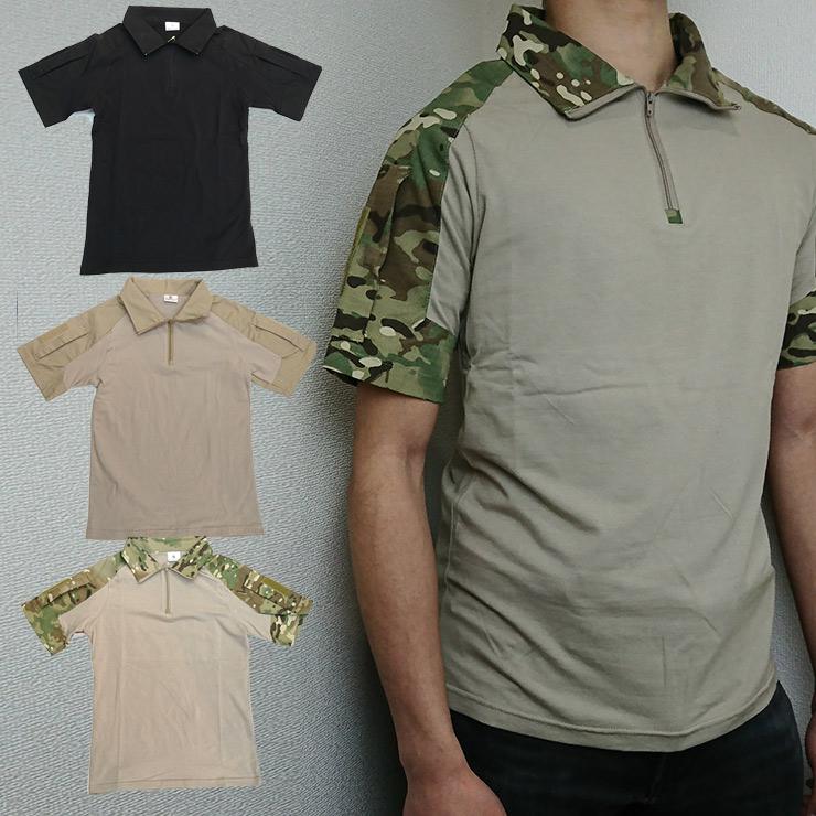 SIVI コンバットシャツショートスリーブ
