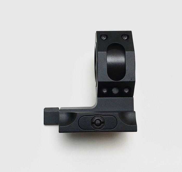 GK Tactical 25 / 30mm用 QDレバースコープマウント - BK GKT-P-013B
