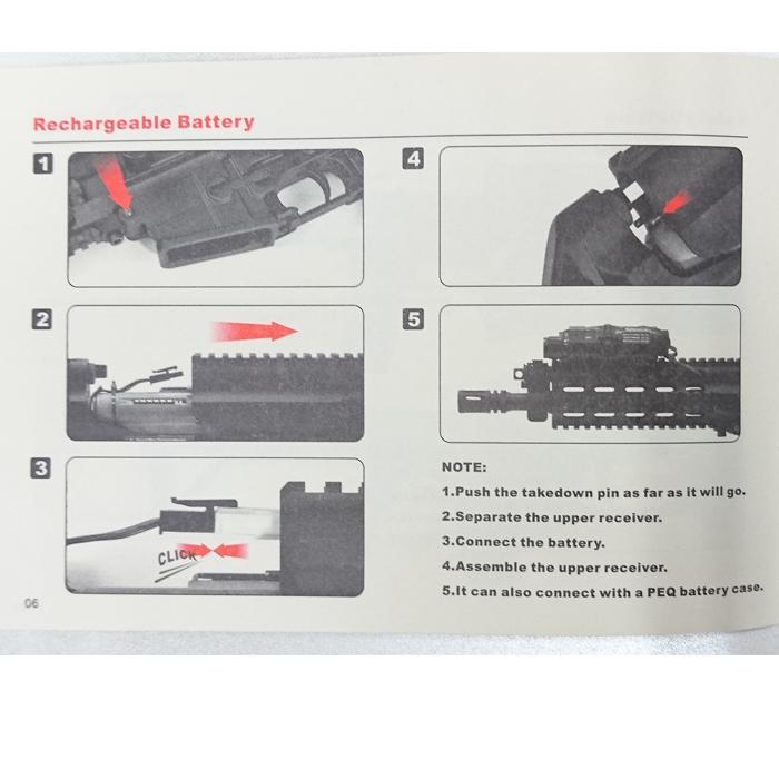 VFC/SocomGear XCR-L Micro AEG/ BK (JPVer)