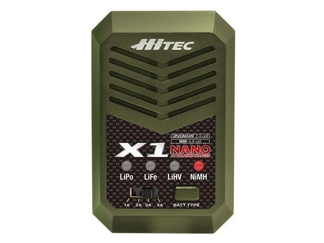 HiTEC X1 NANO Balance Charger オリーブドラブ