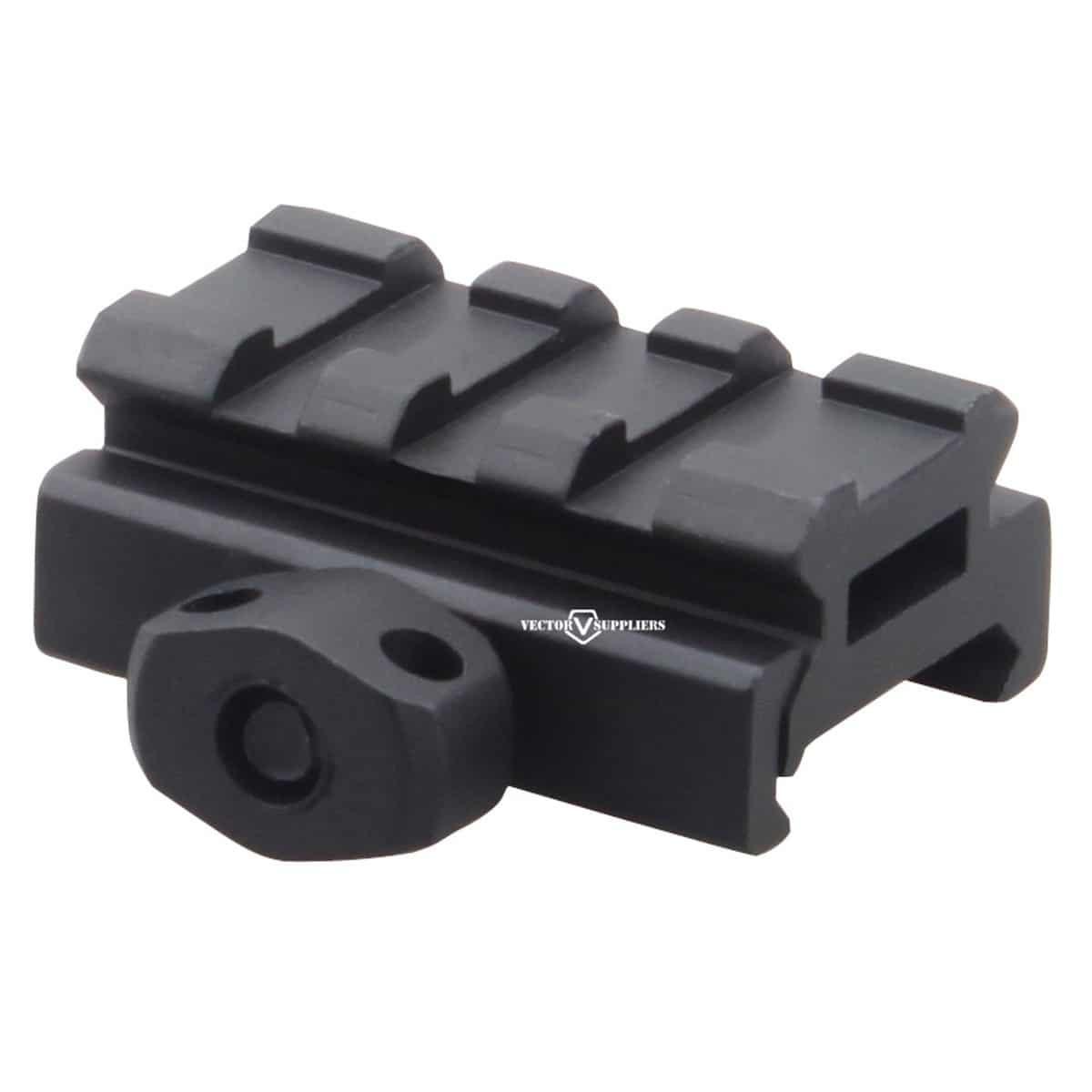 Vector Optics   SCRA-58 1/2 Inch Picatinny Riser Mount 3 Slots 40mm
