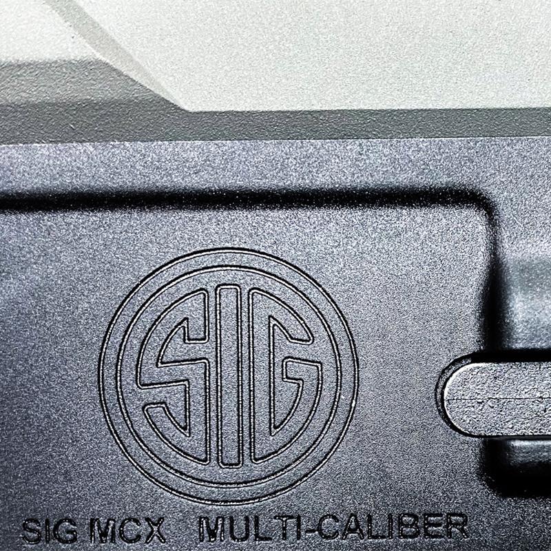 SIG MCX VIRTUS GRAR BLACK Cerakote Edition
