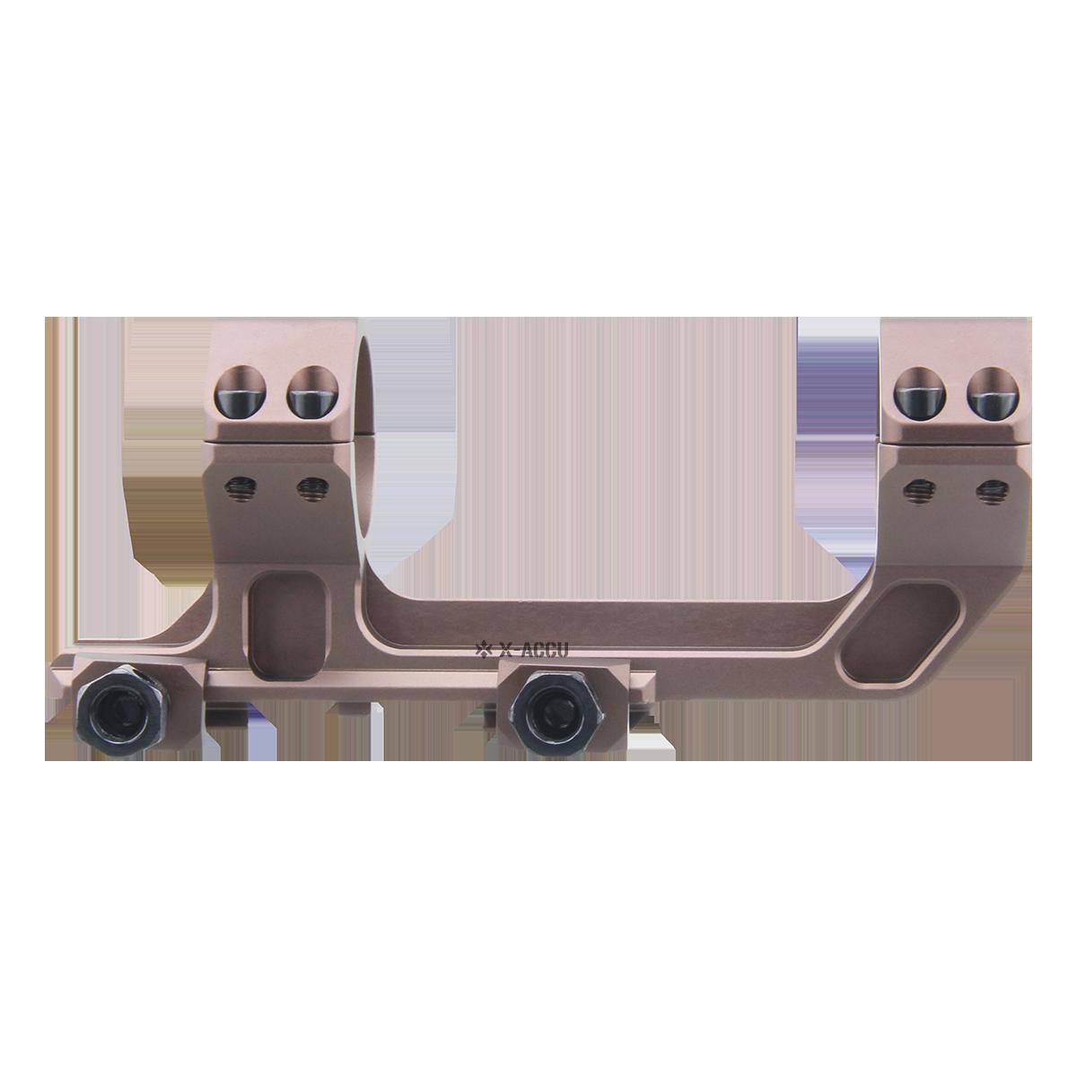 Vector Optics XASR-3035 X-Accu 30mm 1-Piece Extended Picatinny AR Mount FDE