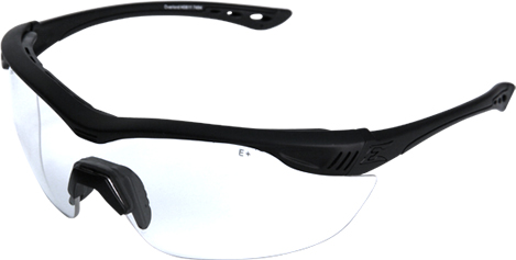 EDGE Tactical HO611-1 Overlord - Black Frame/Clear VS Lens