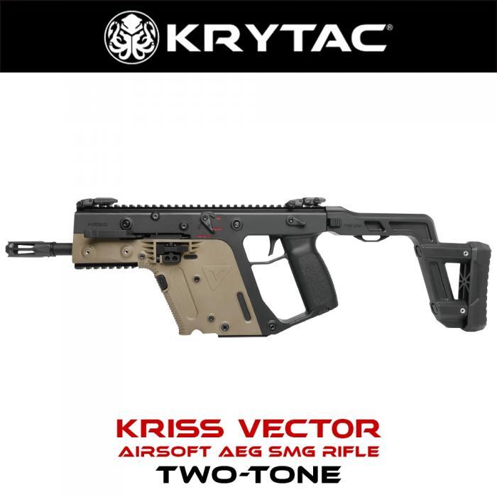 KRYTAC KRISS VECTOR TWO-TONE BK/FDE