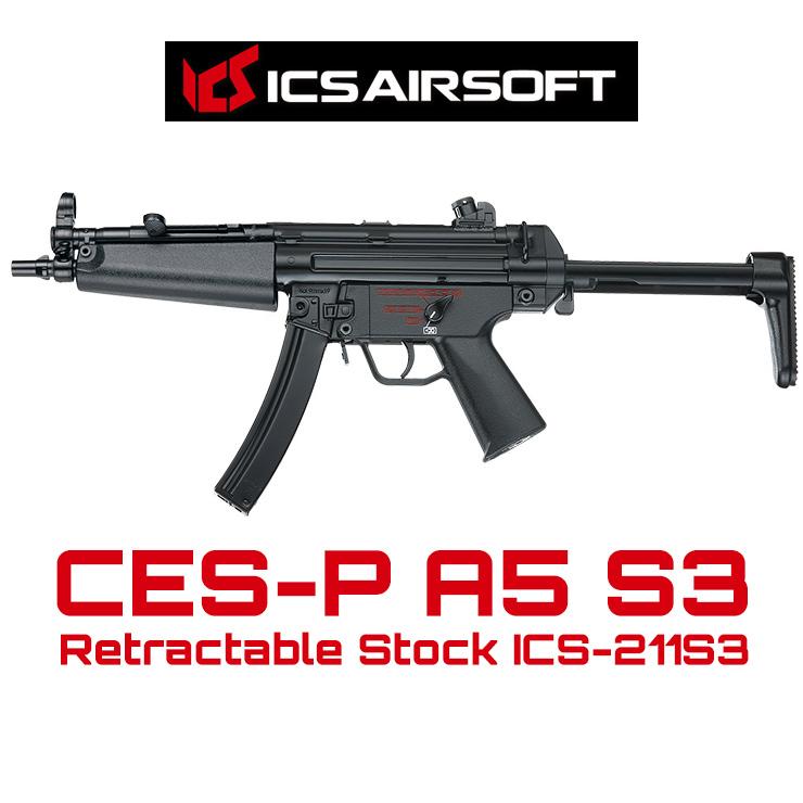 ICS CES-P A5 S3 Retractable Stock ICS-211S3