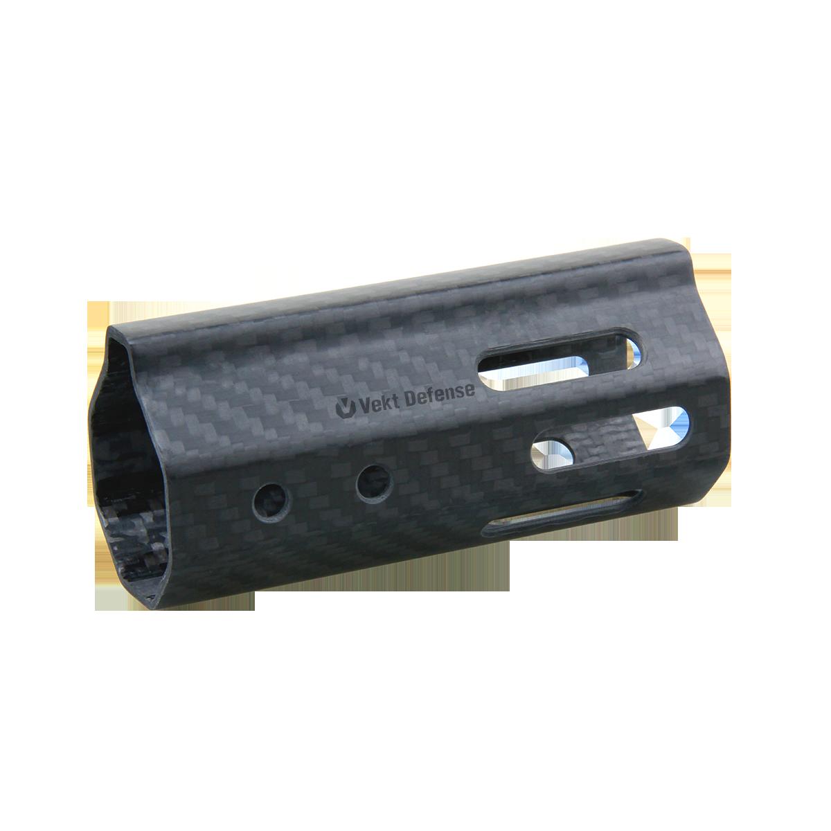 "Vector Optics Vekt Defense VDCF-04 Carbon Fiber 4"" Slim Handguard Rail Mount"